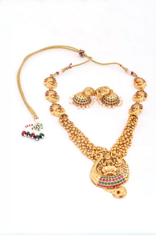 Laxmi Haar Pattern Neckless Set