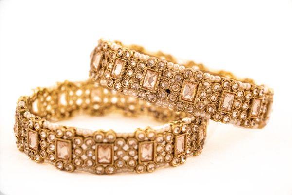 Uncut Reversable Diamond Bangles