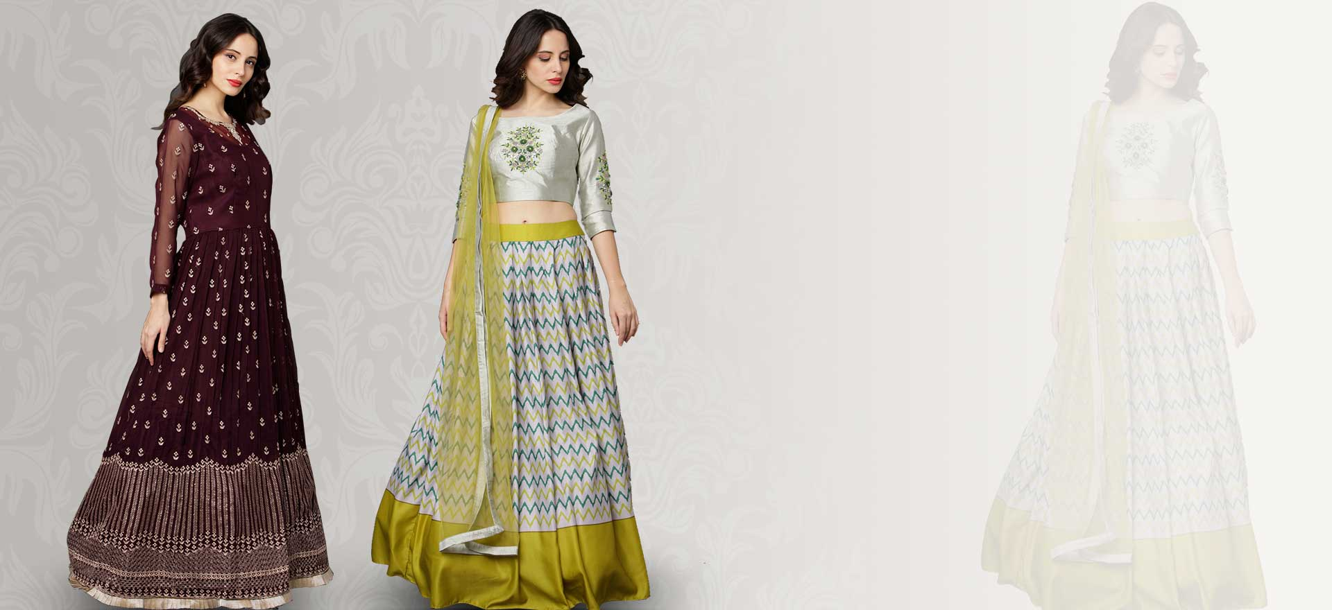 Ready to Wear Womens Ethnic Clothes