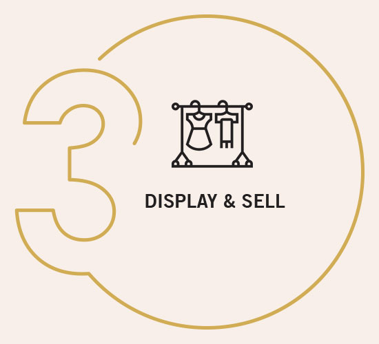 Display and Sell